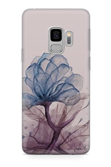 Lopard Samsung Galaxy S9 Kılıf Saf Aşk Kapak Renkli